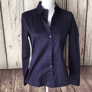 Banana Republic non-iron fitted Button down size 4